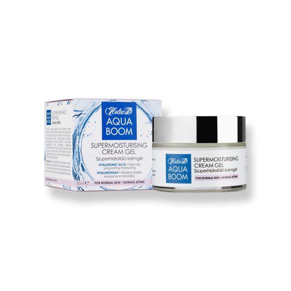 Helia-D Aquaboom Szuperhidratáló krémgél normál bőrre