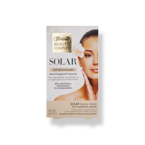 Helia-D Beauty Complex Solar szépségvitamin étrend-kiegészítő kapszula