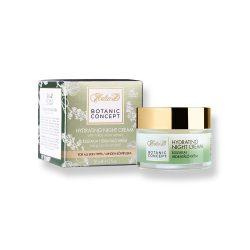 Helia-D Botanic Concept Éjszakai Hidratáló Krém Tokaji Bor Kivonattal 50 ml