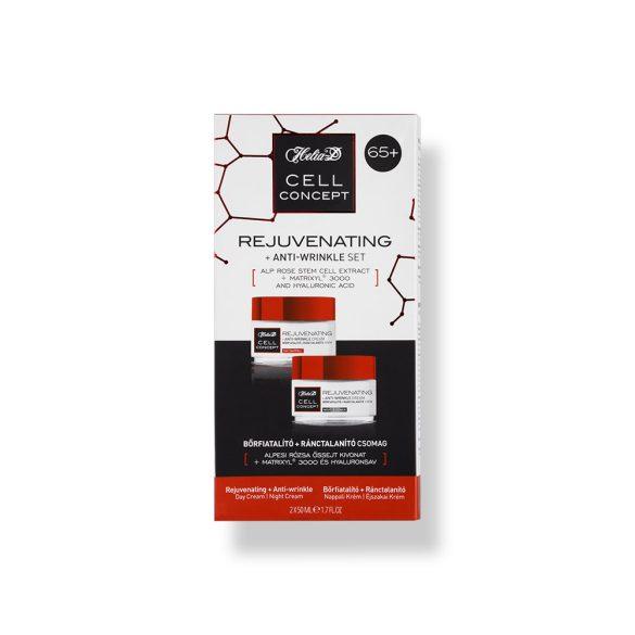 Helia-D Cell Concept Bőrfiatalító + Ránctalanító Csomag 65+