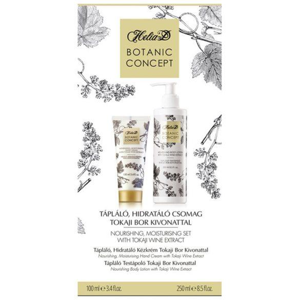 Helia-D Botanic Concept Tápláló, Hidratáló Csomag Tokaji Bor Kivonattal