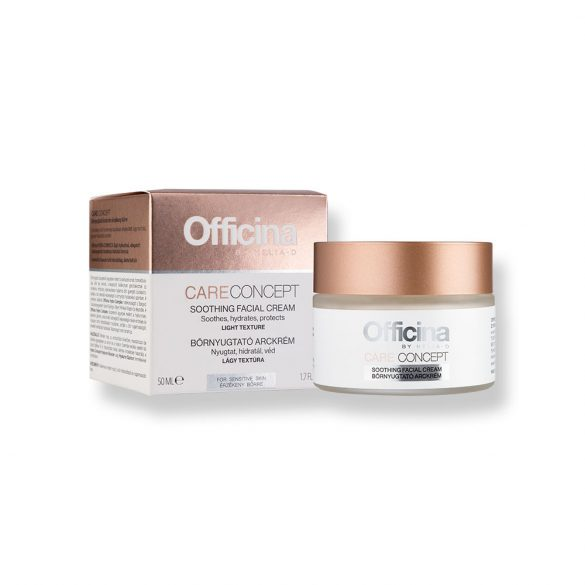 Officina Care Concept Bőrnyugtató Arckrém 50 ml