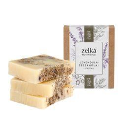 Zelka Levendulás és szezámolajos szappan