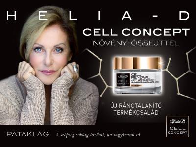 ÉRKEZIK - A HELIA-D CELL CONCEPT TERMÉKCSALÁD