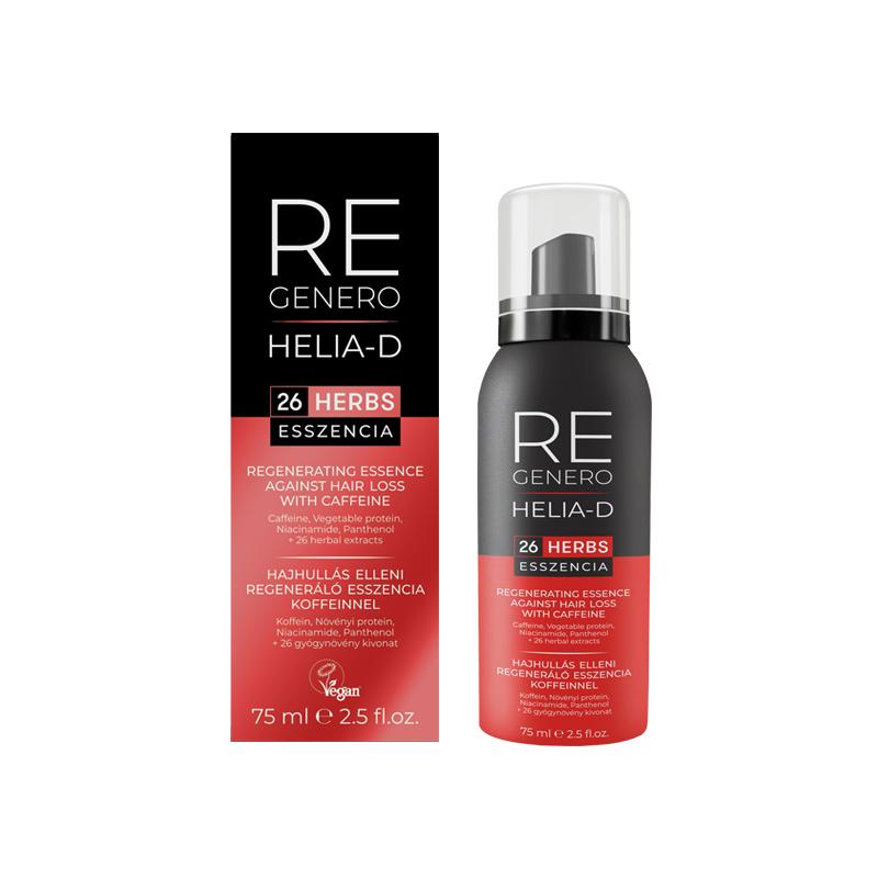 Helia-D Regenero hajhullás elleni regeneráló eszencia koffeinnel