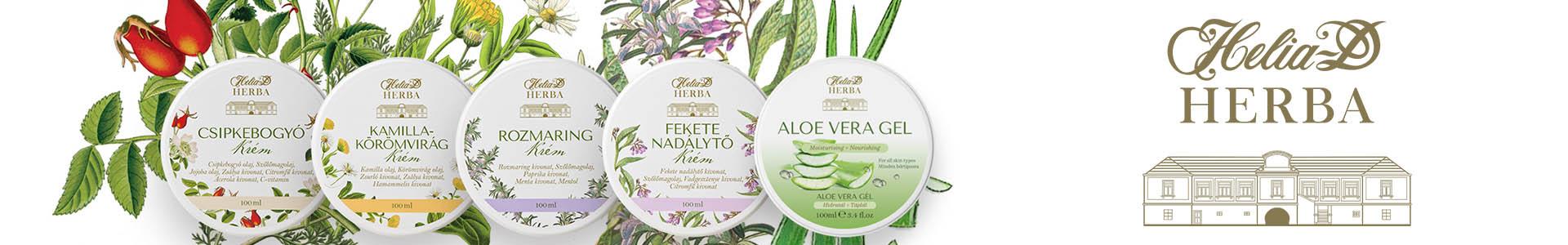Helia-D Herba Gyógynövényes Krémek