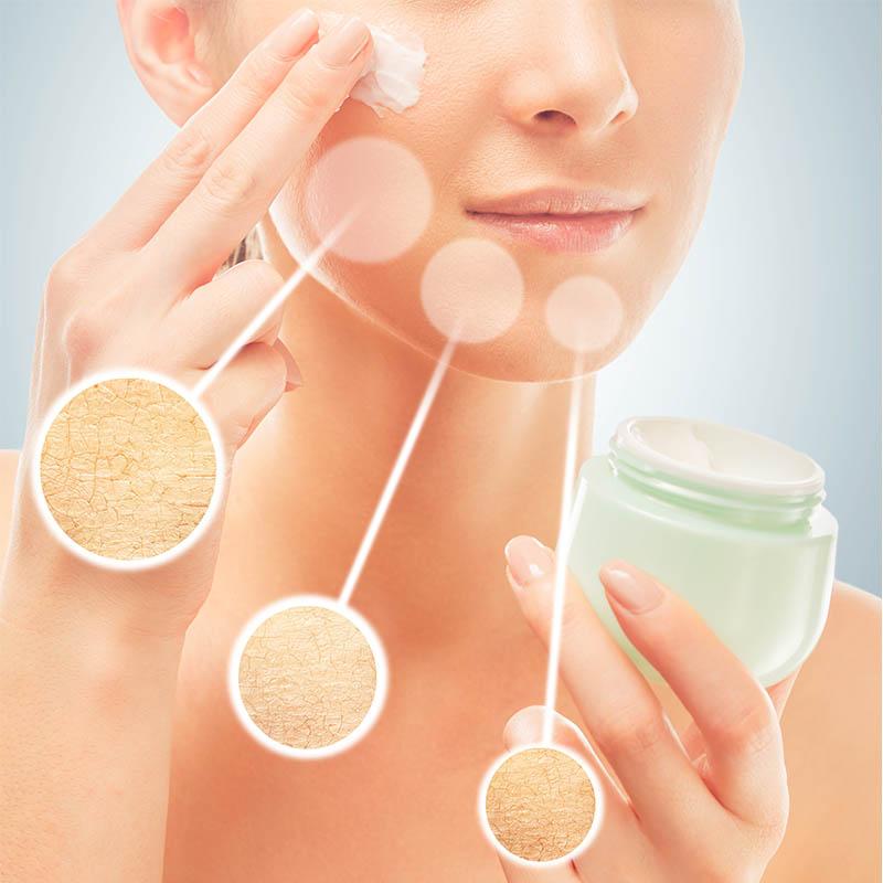 Az arcbőr hidratálása