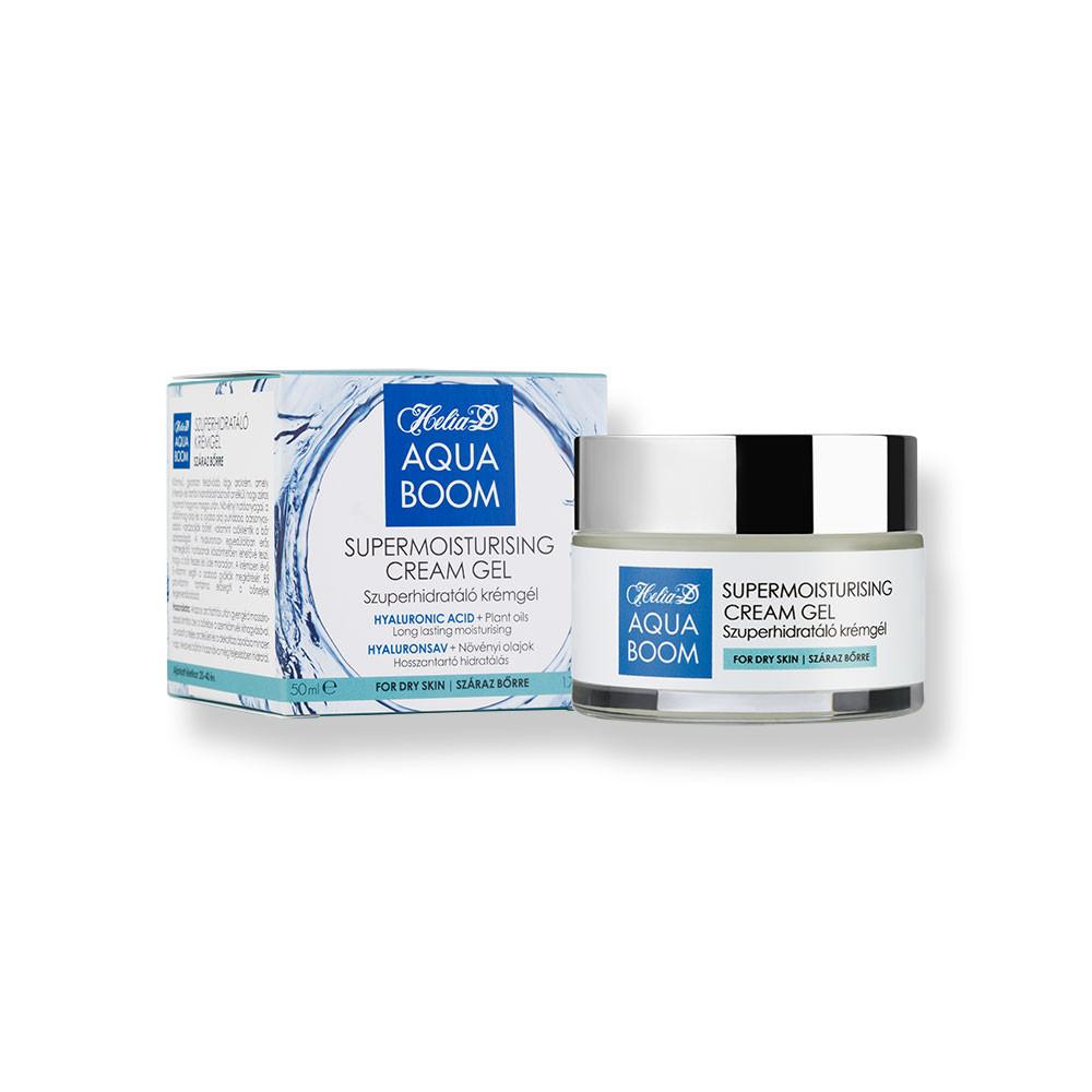 Helia-D Aquaboom Szuperhidratáló Krémgél Száraz Bőrre